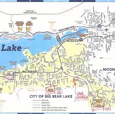Map Of Orange County Ca Big Bear Lake Map My Blog