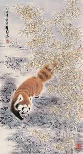 drawn red panda china red pencil and in color drawn red panda