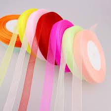 organza ribbon 12mm 50 meters organza ribbon apparel sewing fabric diy gift