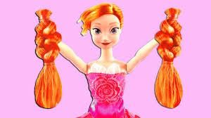 frozen anna gets her hair cut too features frozen elsa