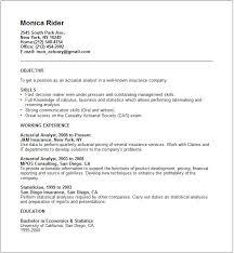 Data Analysis Sample Resume by Sample Actuary Resume Haadyaooverbayresort Com
