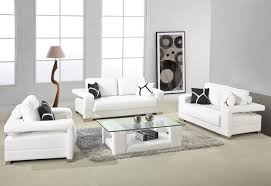 pretty design white leather living room furniture remarkable white