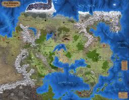 Forgotten Realms Map Welcome To Greyhawk