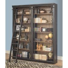 Bookcase With Ladder by Versatile Tall Bookcase With Ladder Bookcases Tall Shelf Ladder