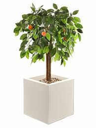 closer to nature artificial 3ft 3 orange tree