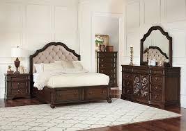 Antique King Beds With Storage by Levi U0027s Discount Furniture Vineland Nj Ilana Antique Java U0026 Cream
