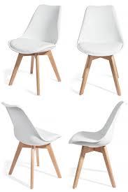 Salle A Manger Style Scandinave by 4 Chaises Brekka Design Contemporain Nordique Scandinave Achat