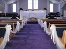 Pew Decorations For Wedding Best Wedding Decorations Best Church Pew Wedding Decorations Ideas