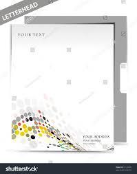 Business Letterhead Design Vector Business Letterhead Templates Design Vector Illustration Stock