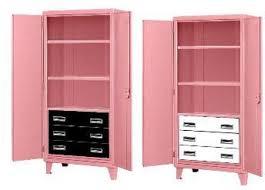 Pink Filing Cabinet Three Drawer Heavy Duty Metal Storage Cabinet