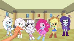 mini coloring book my little pony coloring book mlpeg mini equestria girls episode