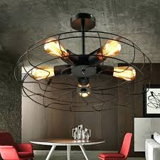 t4homeinterior page 64 chrome ceiling fan with light edison bulb