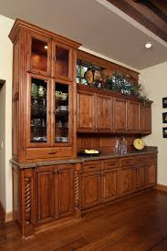 Knotty Alder Cabinet Stain Colors by Affordable Custom Cabinets Showroom