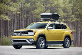 volkswagen concept 2017 the all new 2018 volkswagen atlas weekend edition concept is ready