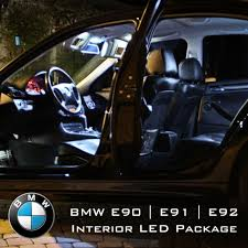 led interior light kits bmw 3 series e90 e91 e92 complete interior led pack
