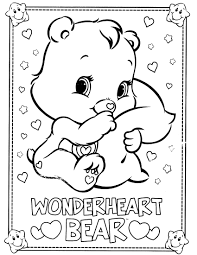 care bear coloring pages 35 coloring kids