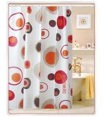 Orange Kitchen Curtains Sale Burnt Red Curtains Elton Fabric In Mandarin By P Kaufman Orange With