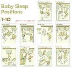 Couples Sleeping Meme - baby sleep positions 1 10