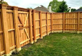 cedar fence ideas best wooden fence ideas on wood fences