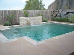 Backyard Feature Wall Ideas Best 25 Small Pool Design Ideas On Pinterest Small Pools Small