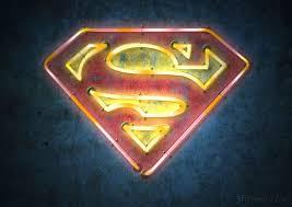 my basement demands it superhero logo neon signs geekologie
