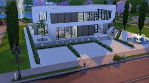 mod the sims ultra modern mansion no cc