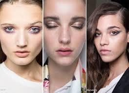 spring summer 2016 makeup trends smudged worn out makeup