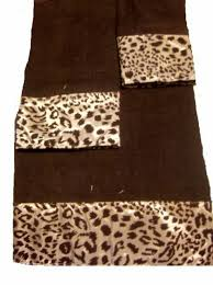 leopard bath towels towel