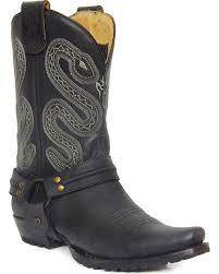 harness boots for men sheplers