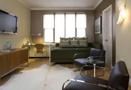 Small Flat Interior Small Minimalist Interior Flat Design Featuring Wooden