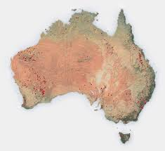 Australian Outback Map Through The Outback The New York Times