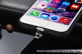3d designer leke apple iphone 7 world s led light illuminated apple