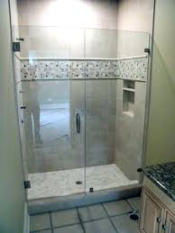 Stall Shower Door Tile Shower Stall Bathroom Design And Decoration Using