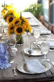 Centerpieces With Sunflowers by Fleur Du Jour Sunflower Centerpiece This Would Be Gorgeous For