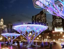 treepods carbon scrubbing artificial trees for boston city