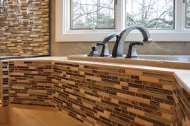 Tiling A Bathtub Shower Surround Modern Bathroom Contemporary Bathroom Other By Criner
