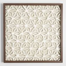 wall cor modern decorations world market rice paper star shadowbox wall art