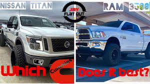nissan titan diesel release what u0027s up with this new cummins nissan titan diesel review youtube