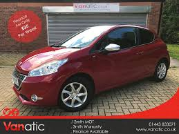 used peugeot finance used peugeot 208 cars for sale in cardiff bay cardiff motors co uk