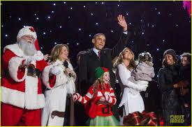 mariah carey national christmas tree lighting with the obamas