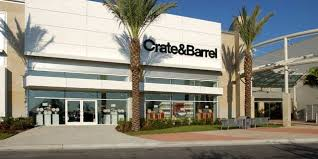 crate and barrel crate barrel the mall at millenia