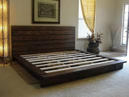 Pallet Platform Bed Bedroom Charming Fur Rug Created To Enhance Amazing Pallet Ideas