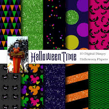 scrapbook halloween background disney halloween inspired digital paper backgrounds pack 12x12