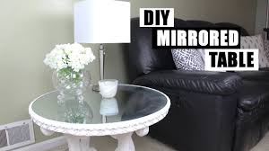 Mirrored Dining Room Furniture Diy Mirror Furniture How To Turn Glass Into A Mirror Diy