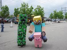Minecraft Halloween Costumes Craft Zombie Pigman Steve Costumes Reef