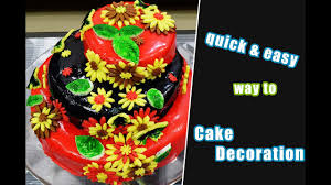 simple cake decoration cake decorate with fondant easy cakes