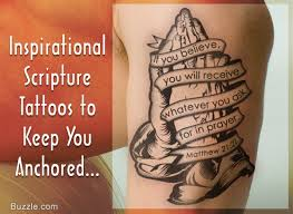 powerful scripture tattoos that are sure to inspire you