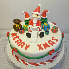 christmas cakes photos