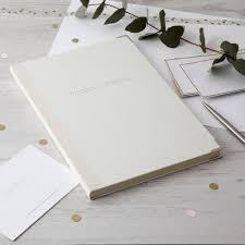 wedding journal personalised wedding journal by harris jones