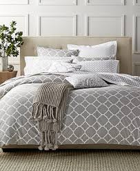 Gray Bed Set Charter Club Damask Designs Geometric Dove Bedding Collection